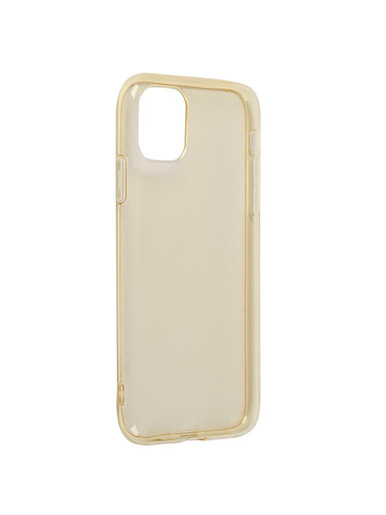Чехол iBox для APPLE iPhone 11 Crystal Silicone Brown УТ000019739