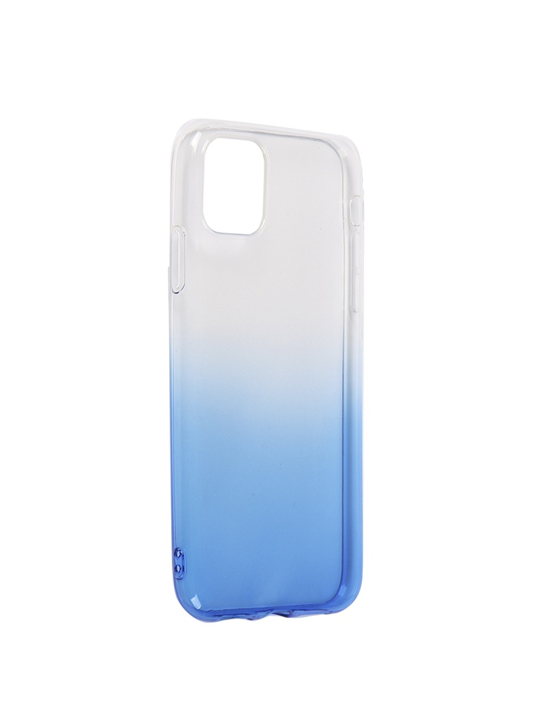 Чехол iBox для APPLE iPhone 11 Crystal Silicone Gradient Blue УТ000019741