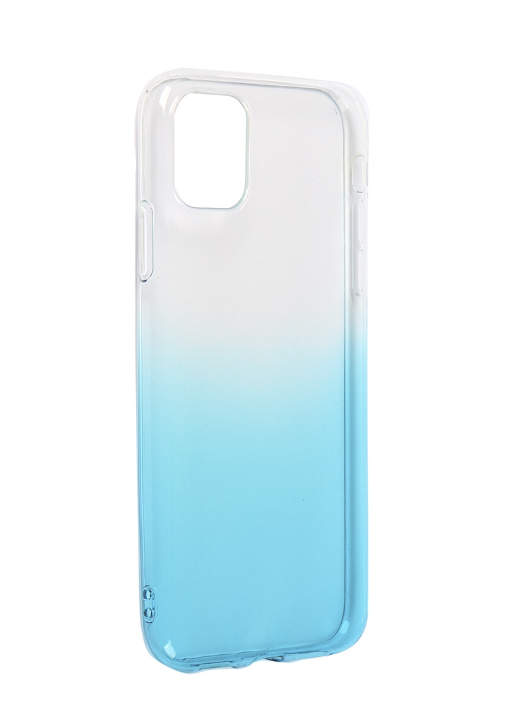 Чехол iBox для APPLE iPhone 11 Crystal Silicone Gradient Light Blue УТ000019740