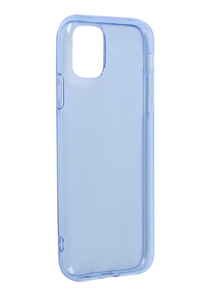 Чехол iBox для APPLE iPhone 11 Crystal Silicone Light Blue УТ000019737