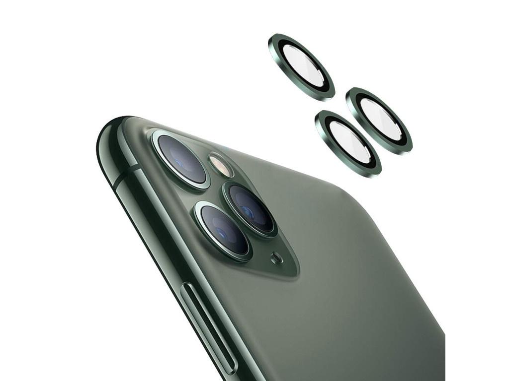 Защитное стекло для камеры Activ для APPLE iPhone 11 / iPhone11 Pro / iPhone 11 Pro Max Lensprotection Green 112866 аксессуар защитное стекло activ glass для iphone 6 gold 55082