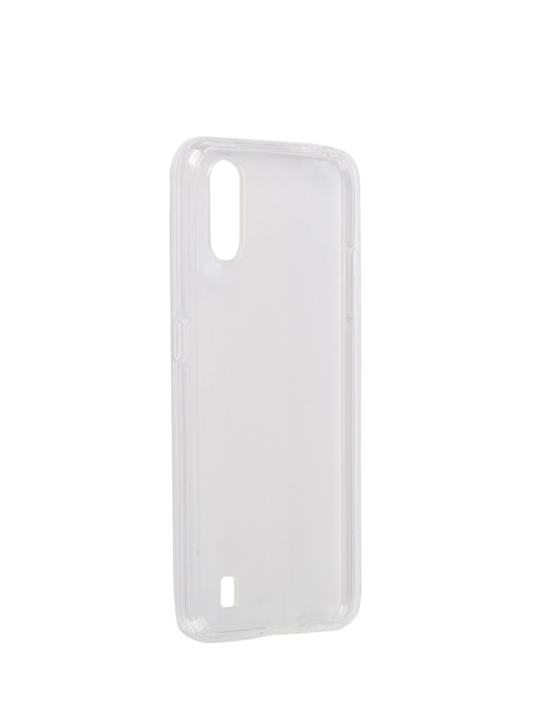 Чехол iBox для Samsung Galaxy A01 Crystal Silicone Transparent УТ000019403 цена и фото
