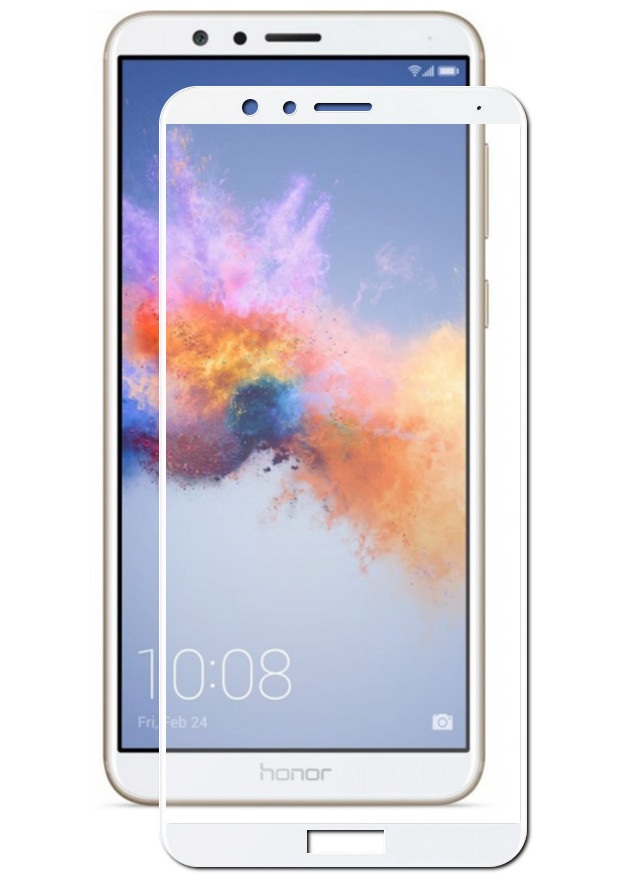 Защитный экран Red Line для Honor 7X Full Screen Tempered Glass White УТ000019791