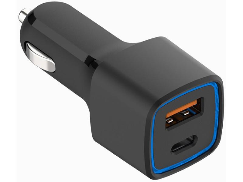 Зарядное устройство Budi 065T QC3.0 USB/Type-C 9V 2.A Black 111984