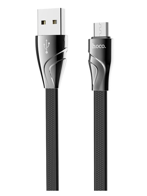 Аксессуар Hoco U57 Twisting USB - micro Black 102791