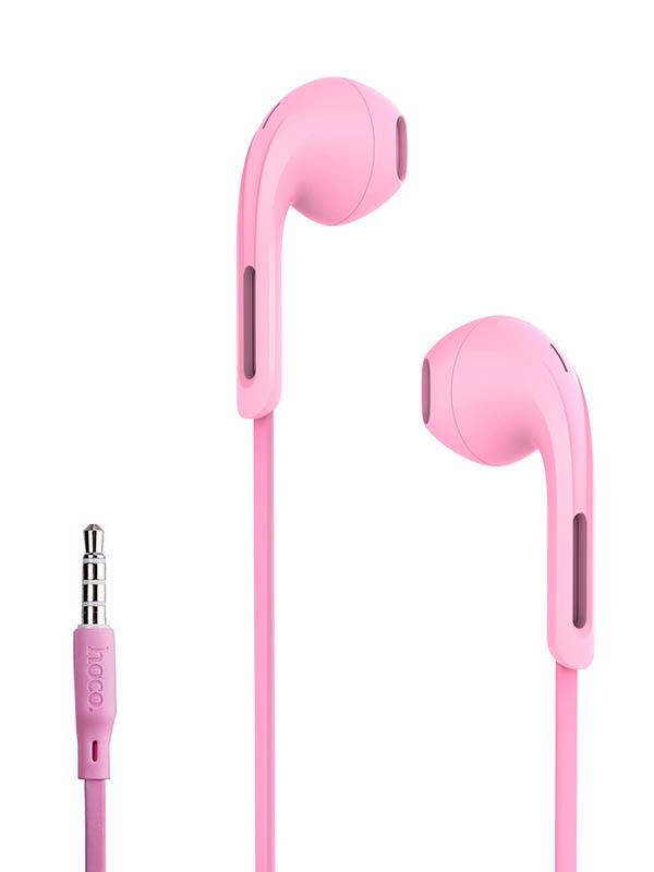 Наушники Hoco M39 Rhyme Sound Pink 92823 цена