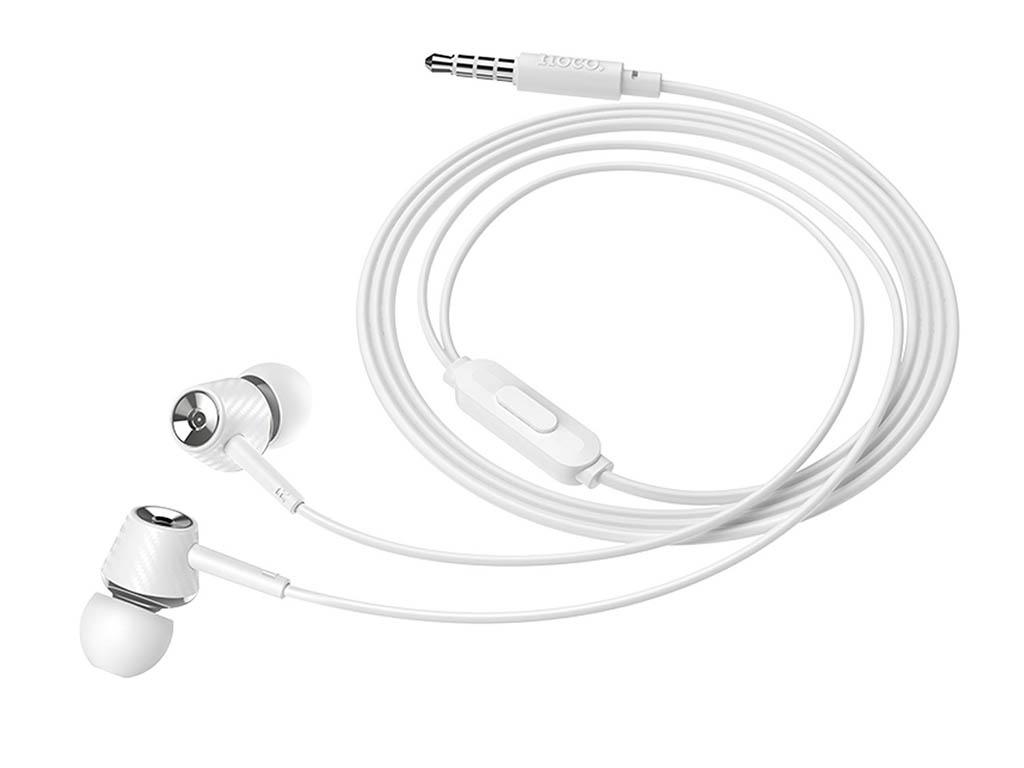 лучшая цена Наушники Hoco M70 Graceful Universal White 115188
