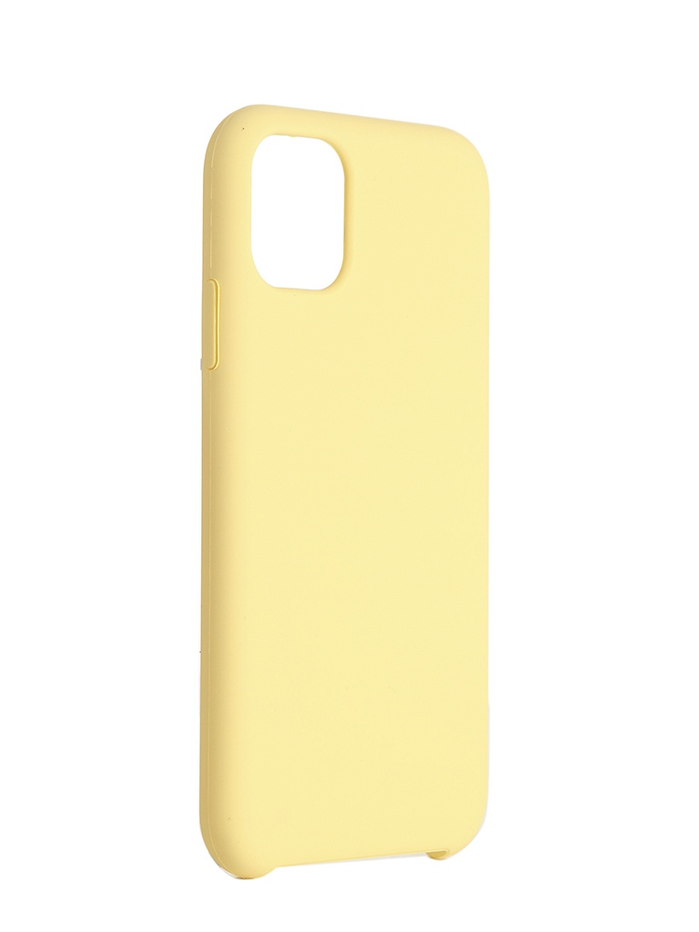 Чехол Neypo для APPLE iPhone 11 Hard Case Yellow NHC15687