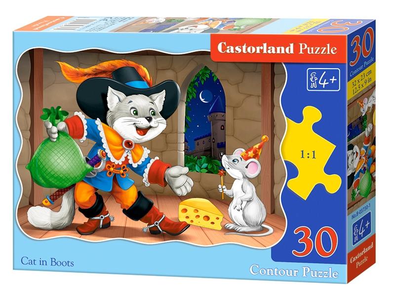 Пазл Castorland Кот в сапогах B-03730
