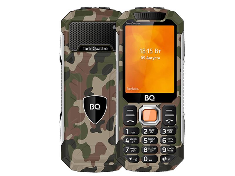 Сотовый телефон BQ 2819 Tank Quattro Camouflage