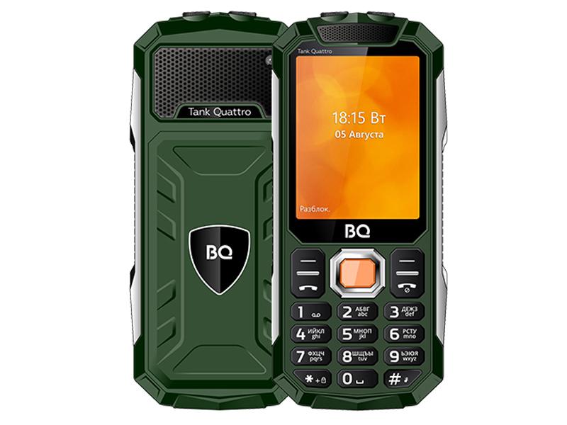 Сотовый телефон BQ 2819 Tank Quattro Green