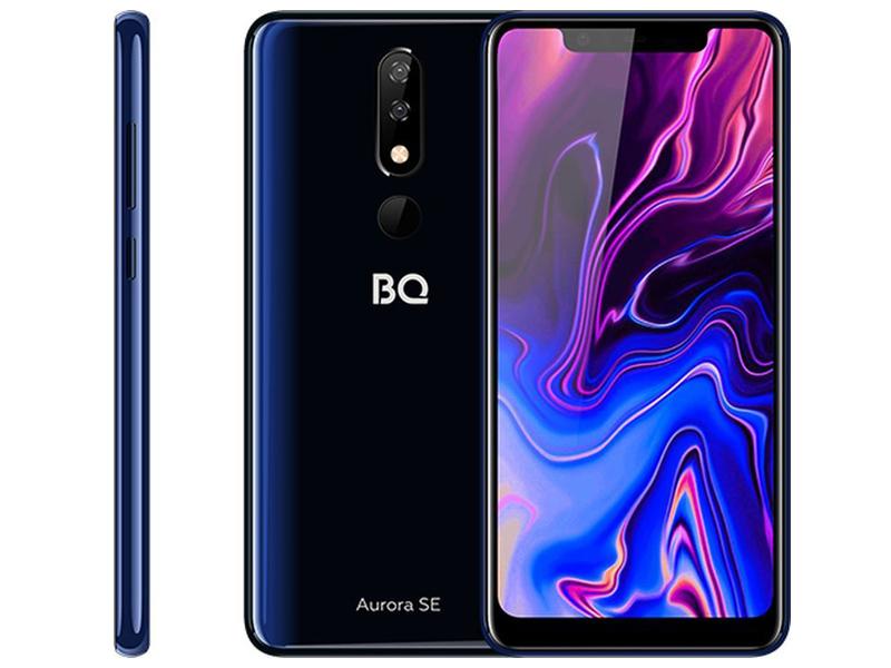 Сотовый телефон BQ 5732L Aurora SE Black-Dark Blue сотовый
