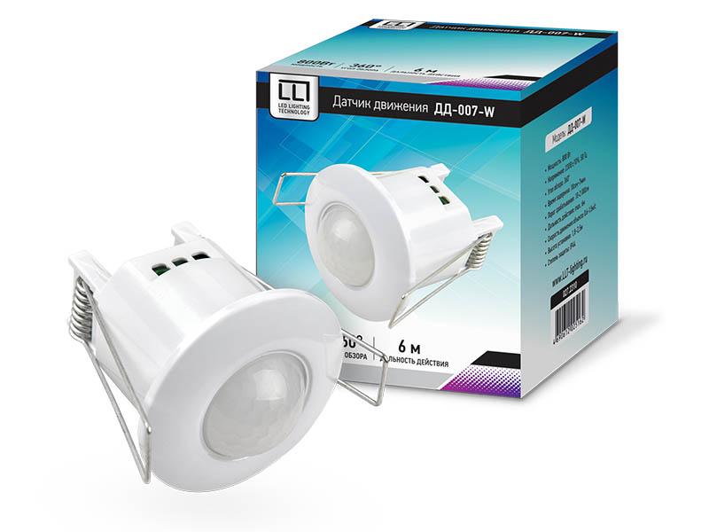 Датчик LLT ДД-007-W 800Вт 360 IP44 White 4690612025162