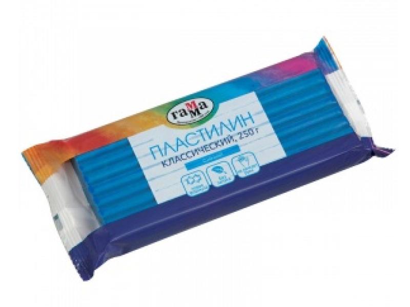 Набор для лепки Гамма Пластилин Классический 250g Blue 270818_05