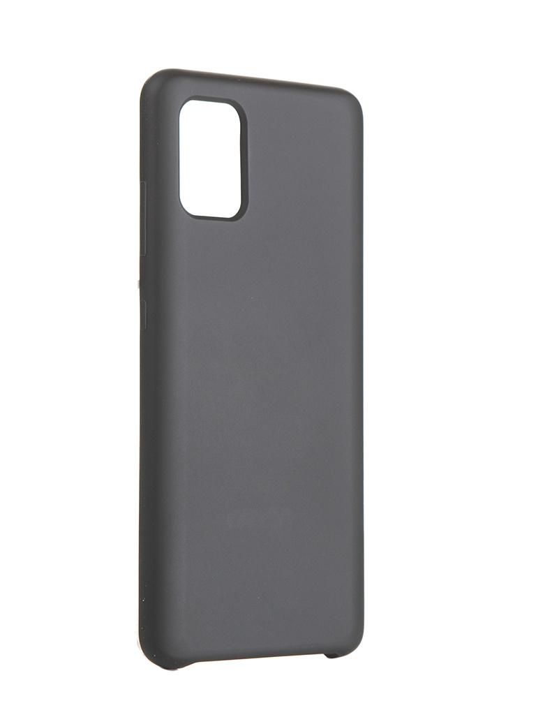Чехол Neypo для Samsung A51 (2020) Hard Case Black NHC16293