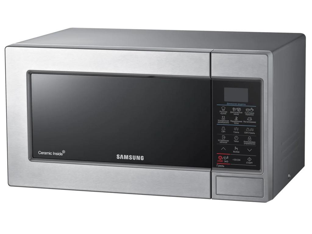 цена Микроволновая печь Samsung GE83MRTQS онлайн в 2017 году
