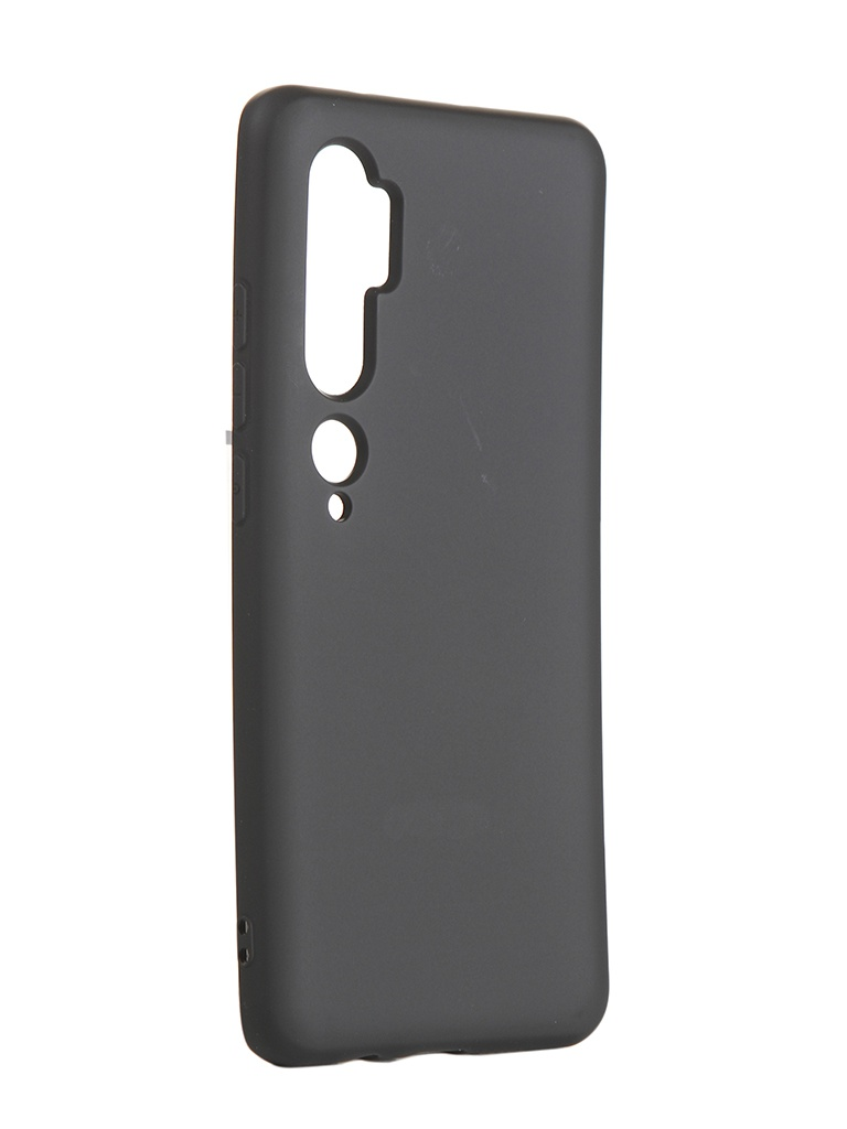 Чехол Neypo для Xiaomi Mi Note 10 Silicone Case Black NSC16216