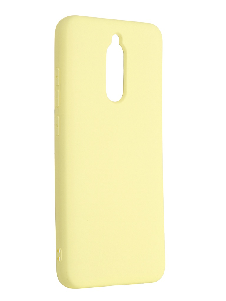 Чехол Neypo для Xiaomi Redmi 8 Silicone Case Yellow NSC16032