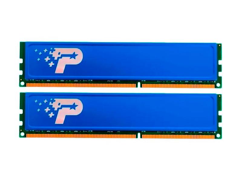 Модуль памяти Patriot Memory Signature DDR3 DIMM 1333Mhz PC3-10600 CL11 - 8Gb KIT (2x4Gb) PSD38G1333KH