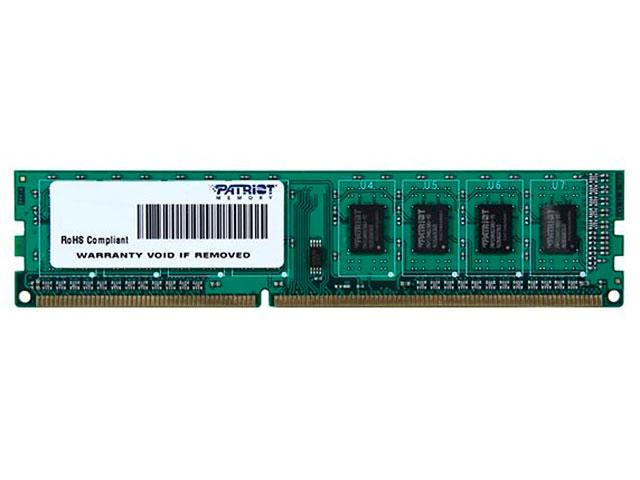Модуль памяти Patriot Memory Signature DDR3 DIMM 1600Mhz PC3-12800 CL11 - 4Gb PSD34G160081 фото