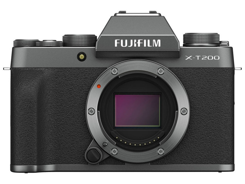 Фотоаппарат Fujifilm X-T200 Body Dark Silver фотоаппарат fujifilm finepix xp140 dark silver