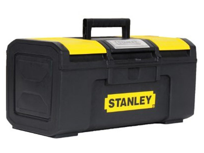 Ящик для инструментов Stanley Basic Toolbox 1-79-217 ящик с органайзером stanley 1 79 218 line toolbox 59 5x28 1x26 см 24 черный