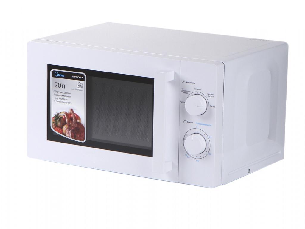 Микроволновая печь Midea MM720CY6-W микроволновая печь midea mm720cy6 w белая