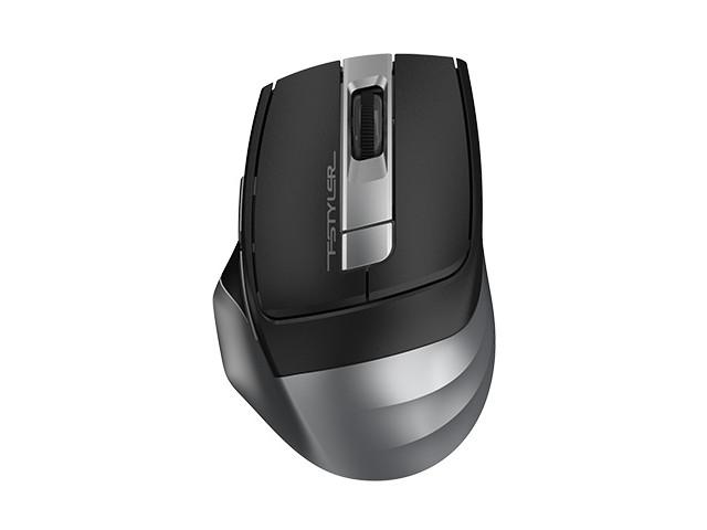 Мышь A4Tech Fstyler FG35 Grey-Black