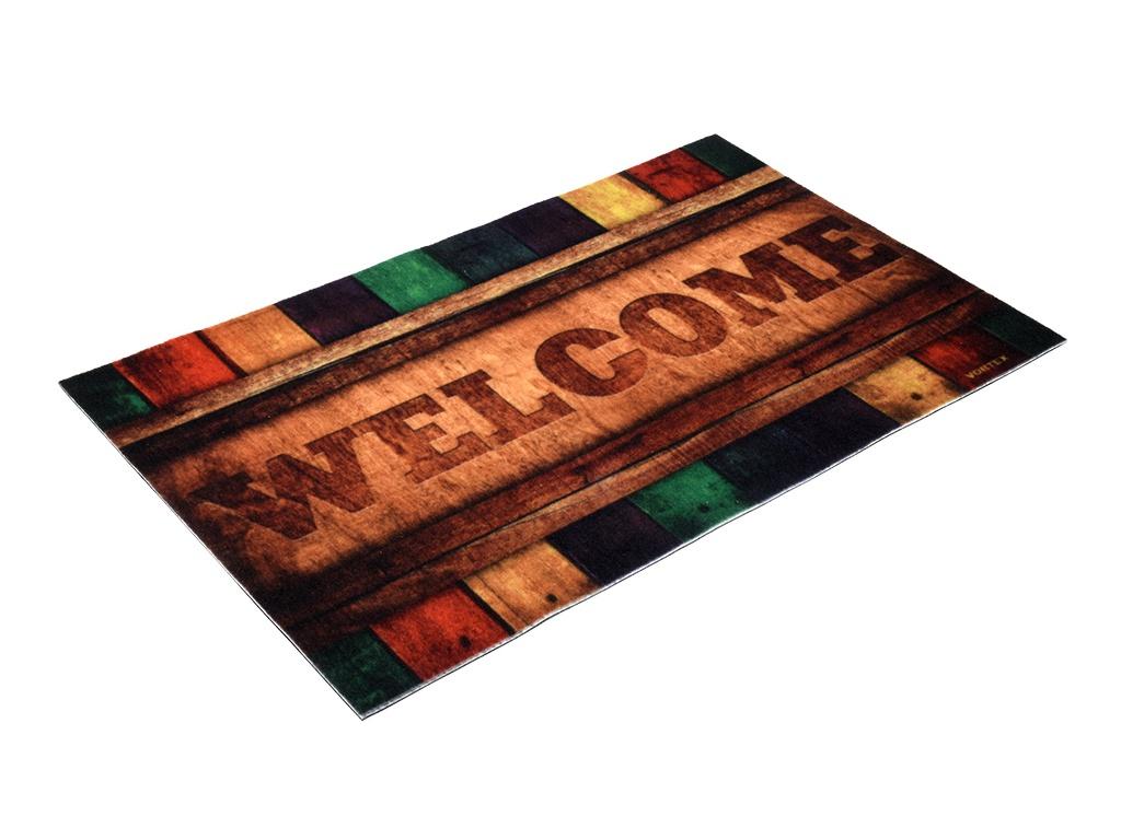 Коврик Vortex Samba Welcome 50x80cm 24154