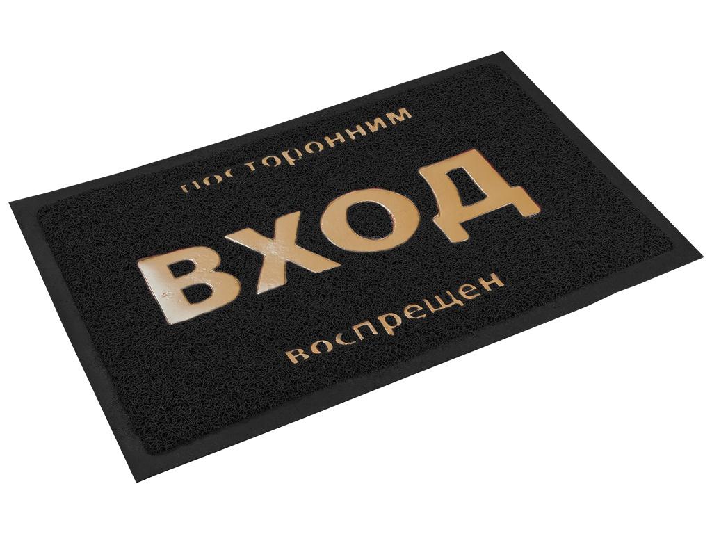 Коврик Vortex 40x60cm Black 22180