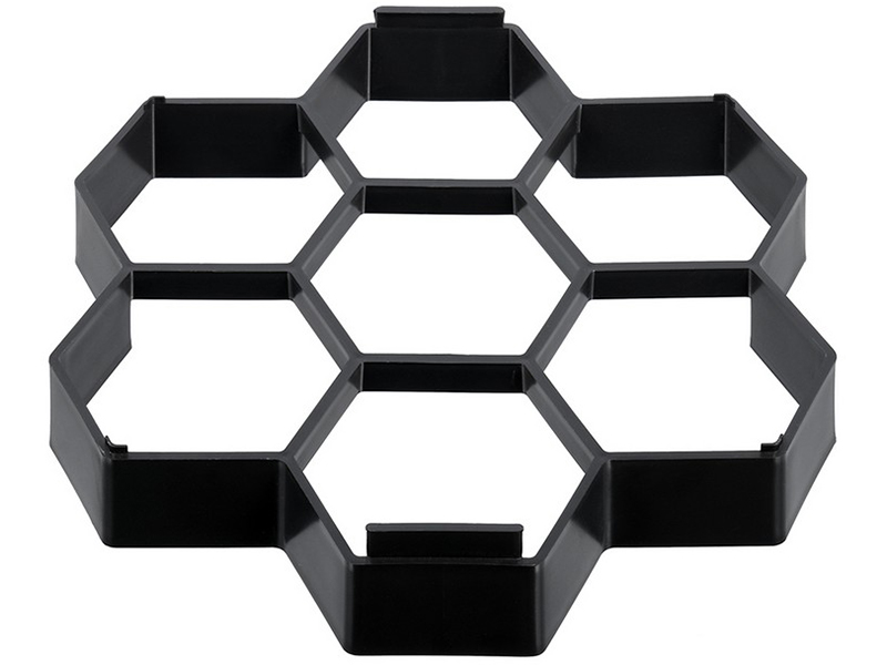 Форма для отливки садовых дорожек Vortex Соты 28.5x27x4cm 24185