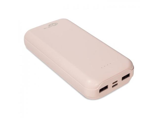 Внешний аккумулятор KS-is Power 30000B KS-190 30000mAh Pink внешний аккумулятор ks is ks 225 13800mah встроенная солнечная панель красный