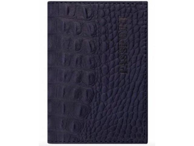Обложка Brauberg Passport Dark Blue 237196