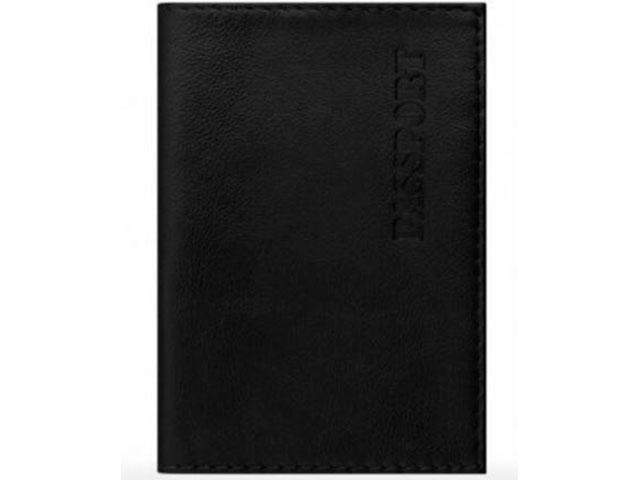 Обложка Brauberg Passport Black 237179