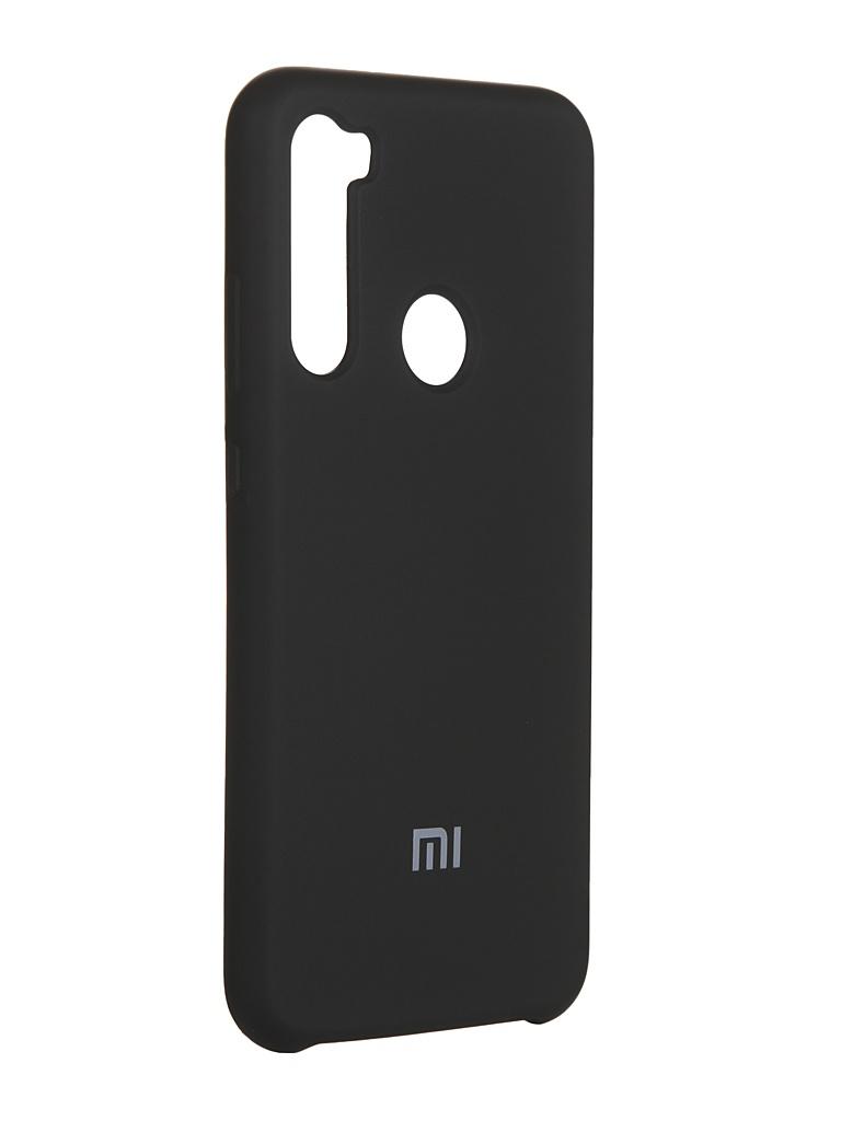 Чехол Innovation для Xiaomi Redmi Note 8 Silicone Cover Black 16590