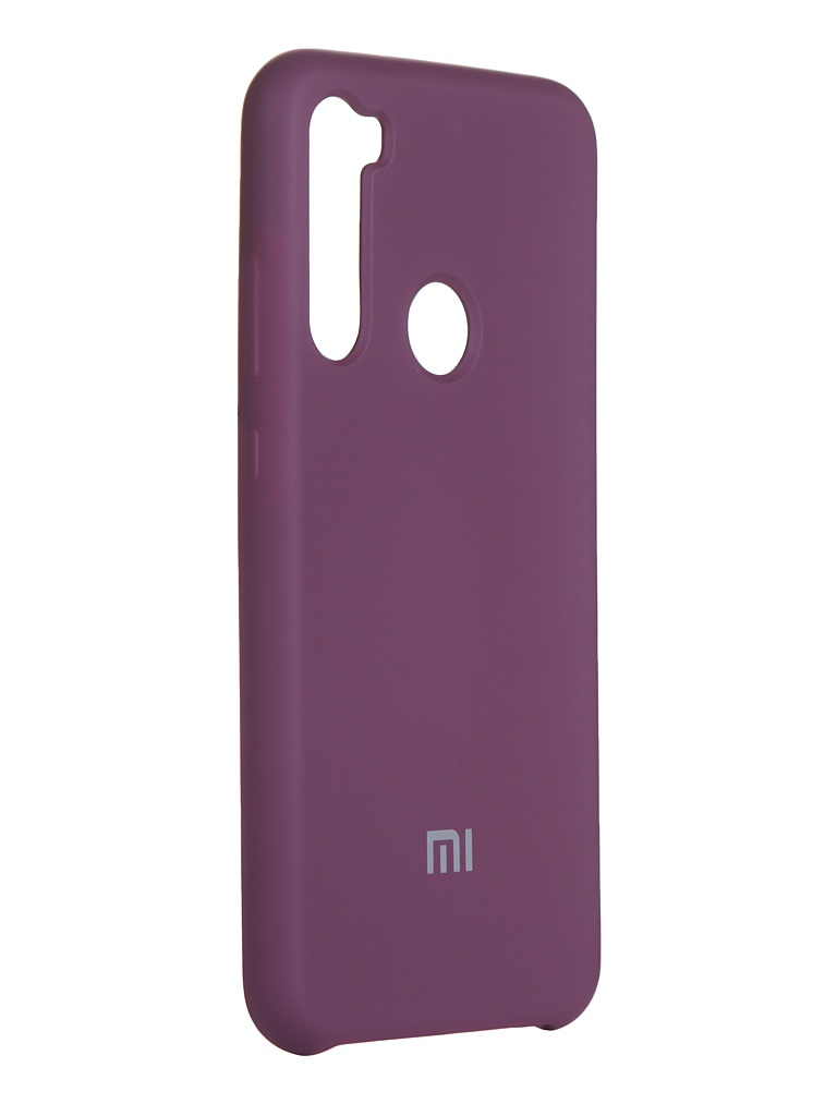 Чехол Innovation для Xiaomi Redmi Note 8 Silicone Cover Purple 16589