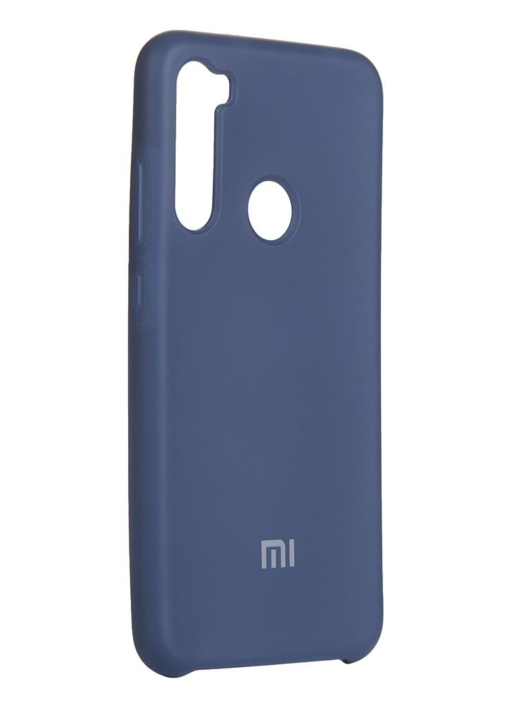 Чехол Innovation для Xiaomi Redmi Note 8 Silicone Cover Blue 16592