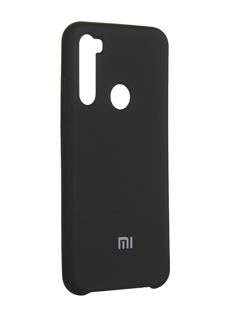 Чехол Innovation для Xiaomi Redmi Note 8T Silicone Cover Black 16722
