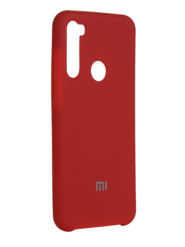 Чехол Innovation для Xiaomi Redmi Note 8T Silicone Cover Red 16721