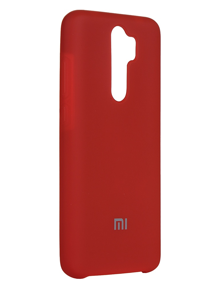 Чехол Innovation для Xiaomi Redmi Note 8 Pro Silicone Cover Red 16596 чехол innovation для xiaomi mi 9se silicone red 15398
