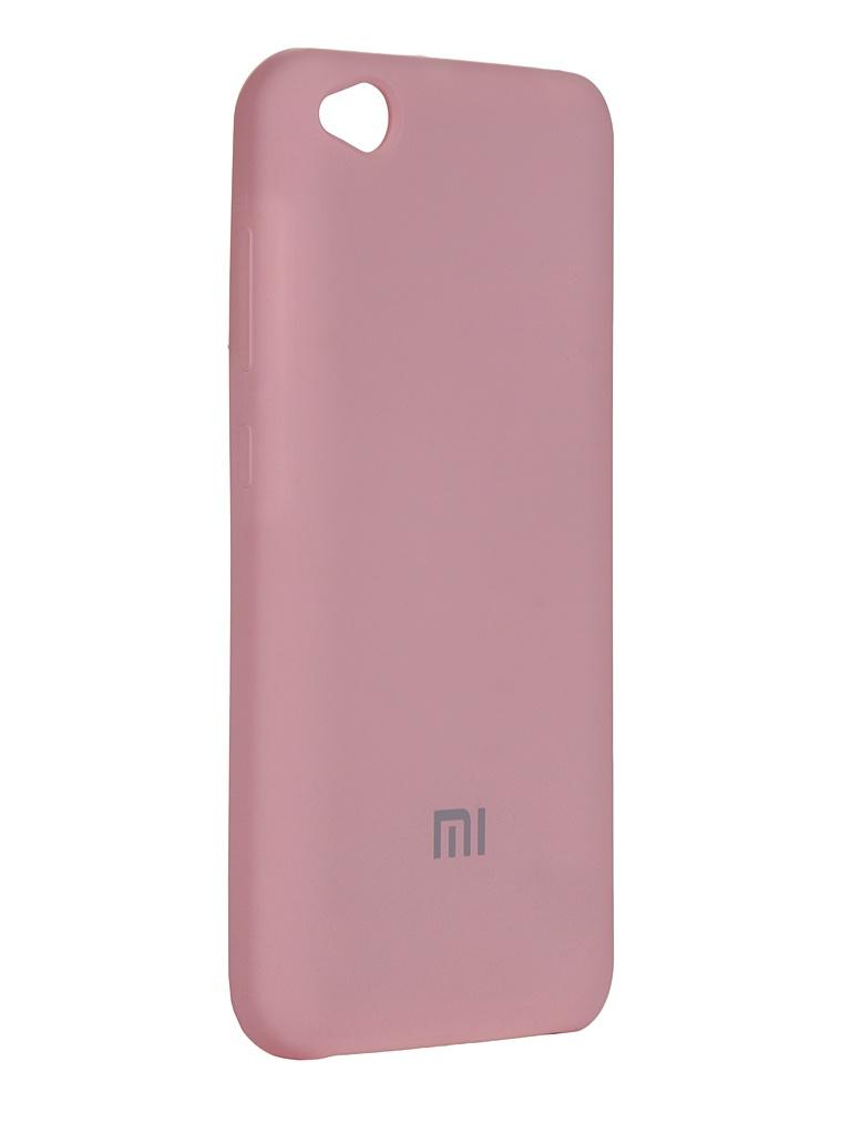 Чехол Innovation для Xiaomi Redmi Mi Go Silicone Cover Pink 15404