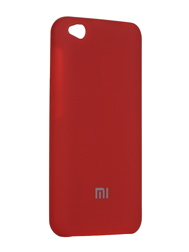 Чехол Innovation для Xiaomi Redmi Mi Go Silicone Cover Red 15408