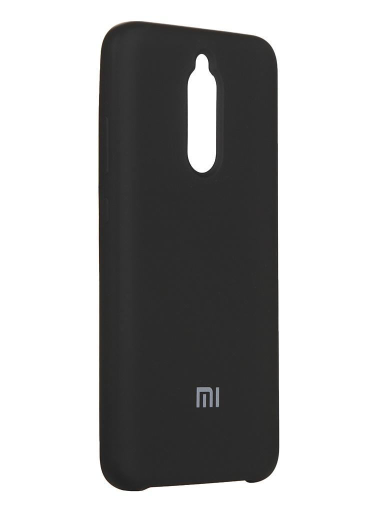 Чехол Innovation для Xiaomi Redmi 8 Silicone Cover Black 16706