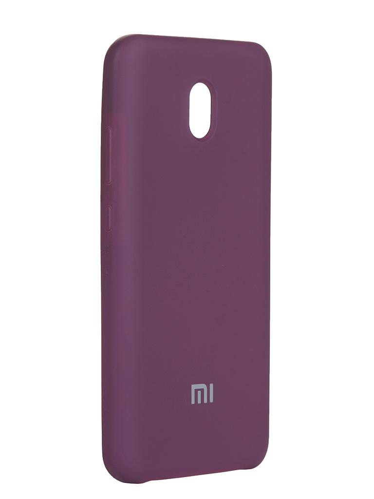 Чехол Innovation для Xiaomi Redmi 8A Silicone Cover Purple 16584
