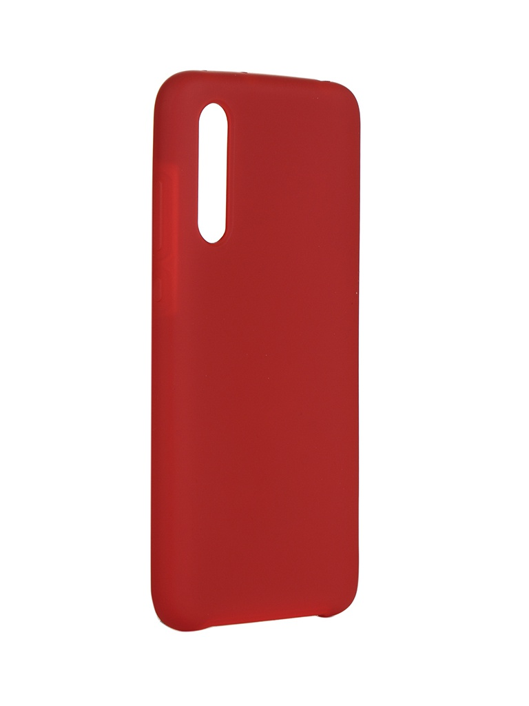 Чехол Innovation для Xiaomi Mi CC9 Silicone Cover Red 16700