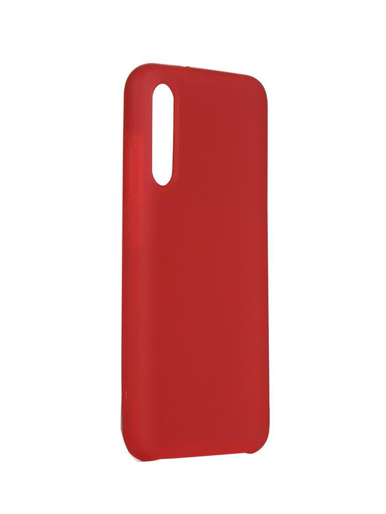 Чехол Innovation для Xiaomi Mi CC9e/Mi A3 Silicone Cover Red 16543