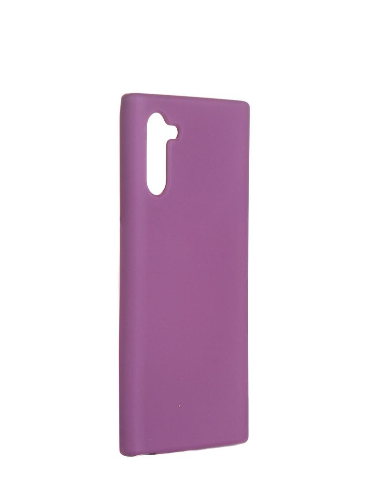 Чехол Innovation для Samsung Note 10 Silicone Cover Purple 16530