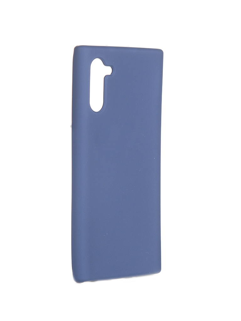 Чехол Innovation для Samsung Note 10 Silicone Cover Blue 16527