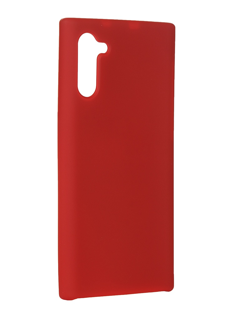 Чехол Innovation для Samsung Note 10 Silicone Cover Red 16528 фото
