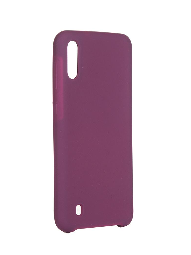 Чехол Innovation для Samsung Galaxy M10 Silicone Cover Purple 15367